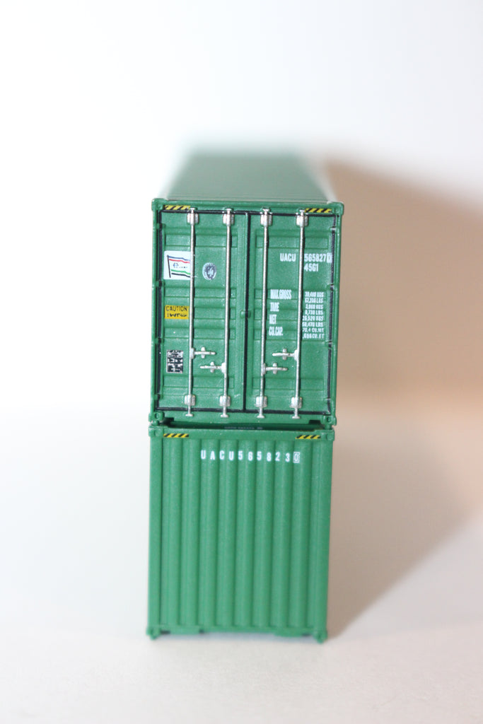 U A S C 40' HIGH CUBE containers with Magnetic system, Corrugated-side  JTC  # 405010