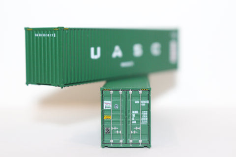 U A S C   40' HIGH CUBE containers with Magnetic system, Corrugated-side. JTC # 405010