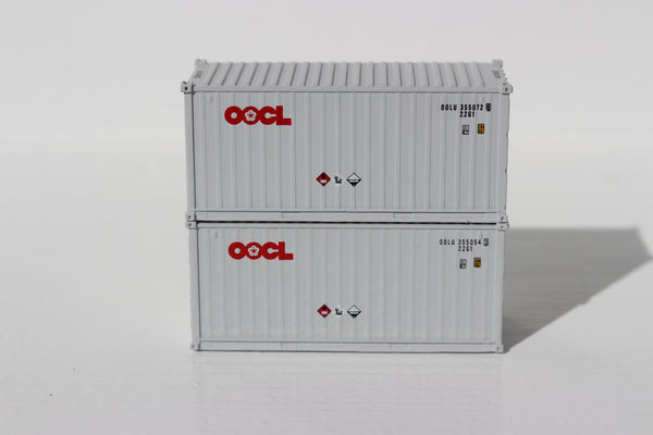 OOCL  20' Std. height containers with Magnetic system, Corrugated-side. JTC-205308