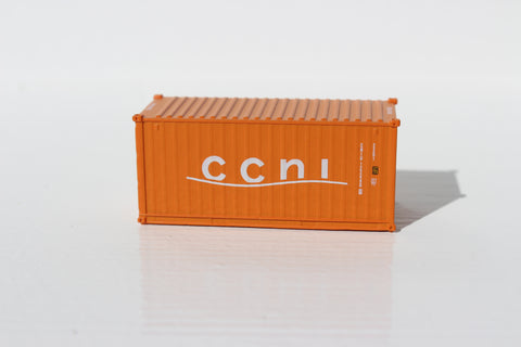 CCNI  20' Std. height containers with Magnetic system, Corrugated-side. JTC-205306