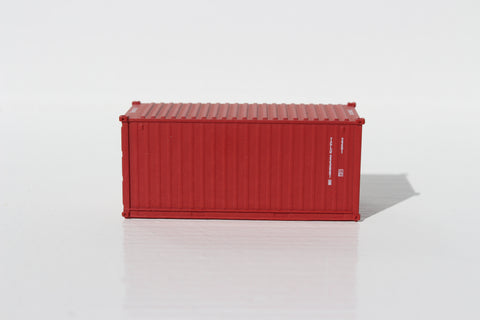 TAL (brown) 20' Std. height containers with Magnetic system, Corrugated-side. JTC-205322