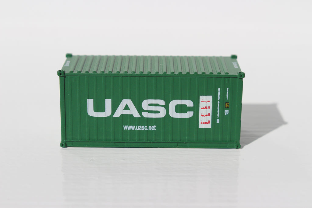 UASC  20' Std. height containers with Magnetic system, Corrugated-side. JTC-205310