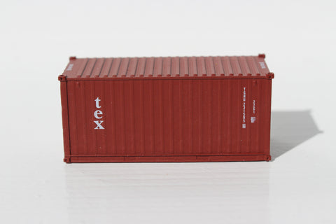 TEX (Kien Hung Lease) 20' Std. height containers with Magnetic system, Corrugated-side. JTC-205335