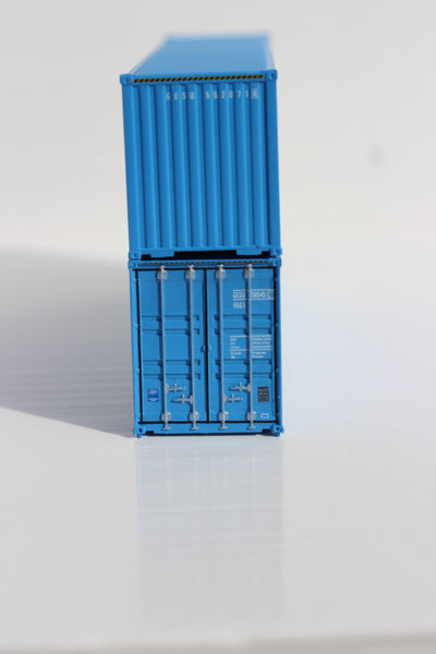 GESEACO  40' HIGH CUBE containers with Magnetic system, Corrugated-side. JTC # 405040