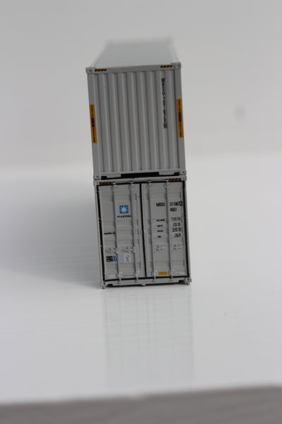 MAERSK 40' HIGH CUBE containers with Magnetic system, Corrugated-side. JTC # 405033