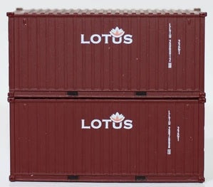 LOTUS 20' Std. height containers with Magnetic system, Corrugated-side. JTC-205375