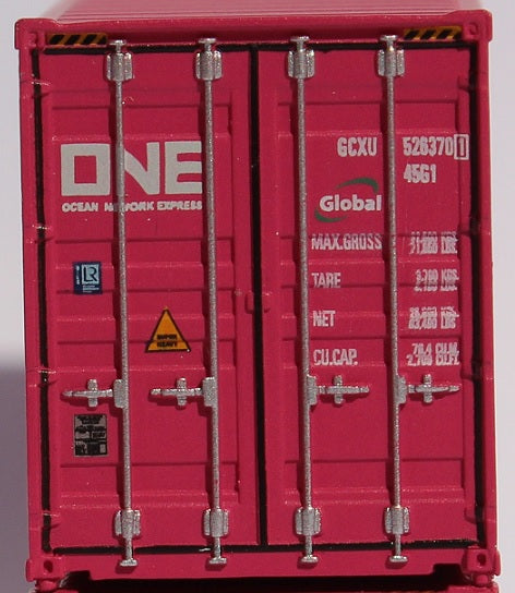 ONE (Global lease) 40' HIGH CUBE containers with Magnetic system, Corrugated-side. JTC # 405138