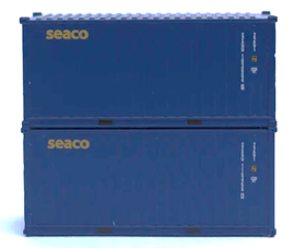 SEACO 20' Std. height containers with Magnetic system, Corrugated-side. JTC-205336