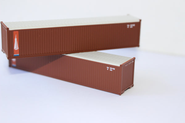 TRANSAMERICA 40' Canvas/Open top container, 'Rib-style' corrugated sides. JTC# 402410