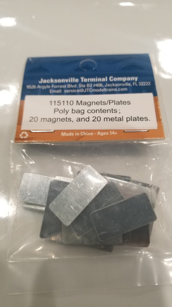 Magnets and Plates (20 of each per package) 115110