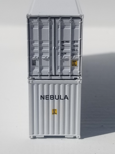 NASA NEBULA 40' HIGH CUBE containers with Magnetic system, Corrugated-side. JTC # 405042 SOLD OUT