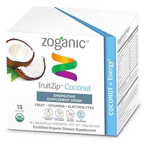 Zoganic Coconut Energy Fruitzip
