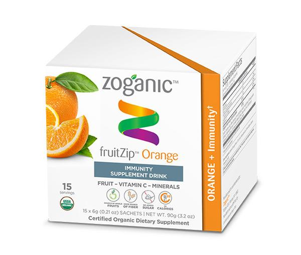 Zoganic Orange Immunity Fruitzip