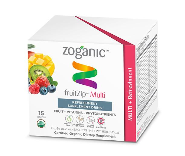 Zoganic Multi Vitamin Fruitzip