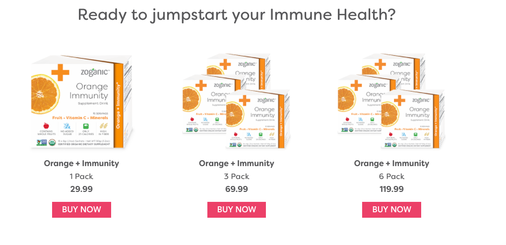 immunity boosting supplements
