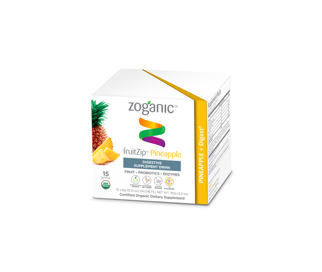 Pineapple digestive supplement