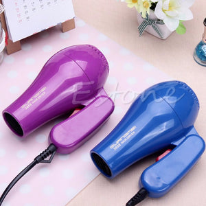 220V Portable Mini Hair Blow Dryer 850W Traveller Hair Dryer Compact Blower Foldable With US Plug