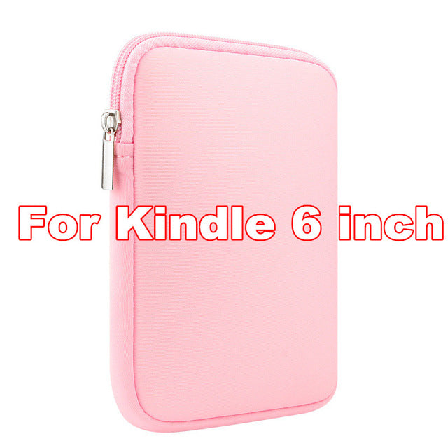 New Slim for Amazon Kindle Paperwhite 1 2 3 Case Sleeve Pouch Bag for Kindle 4 Touch E-Readers Ebooks Sleeve Case Size Under 6''