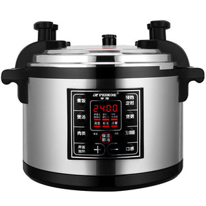 Multi-function Electric Pressure Cooker Commercial Large Capacity 15L 17L Canteen Hotel Large Capacity Electric High Pressure