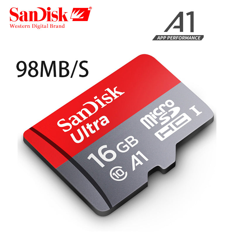 real capacity 100% Sandisk Micro SD card Class10 16gb 32gb 95Mb/s 64gb 128gb100M Original TF card memory card flash memory stick