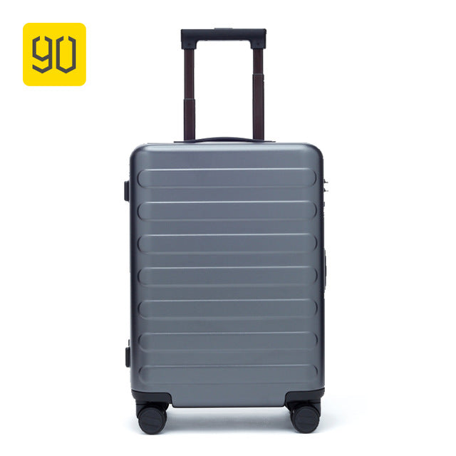 Xiaomi Ecosystem 90FUN SEVEN-Bar Business Travel Suitcase PC Carry on Spinner Wheel Luggage 20 Inch for Woman Man