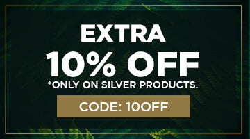 Extra 10 Percent OFF on Silver Products