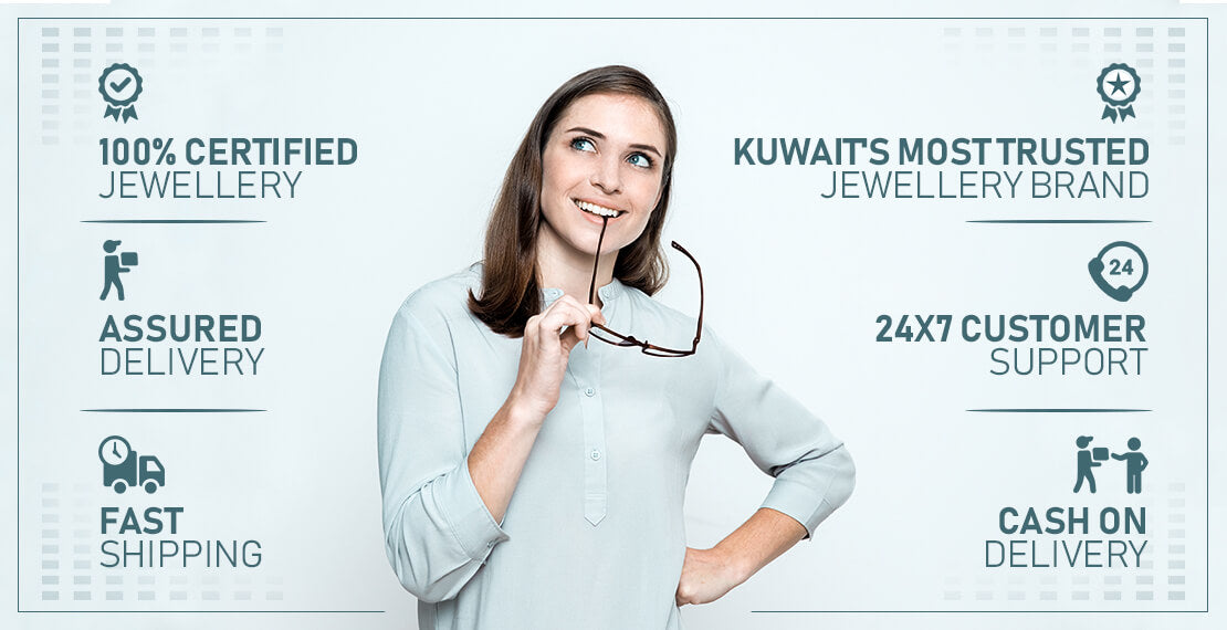 Shop for Gold Jewellery from the Kuwait Gold Shop | FK Jewellers