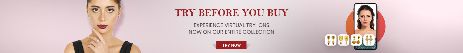 Try Before You Buy, Virtual Try On Available at FK Jewellers