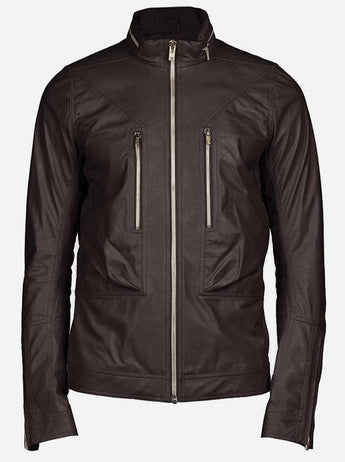 Men Brown Leather Jackets