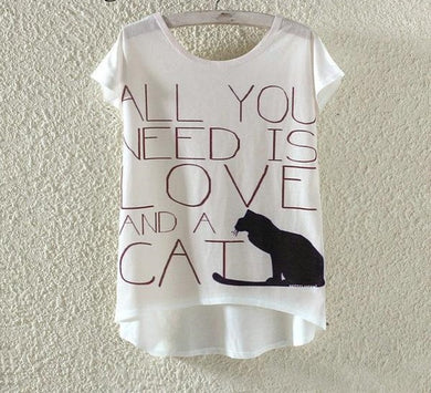 Limited Edition White Cat Top