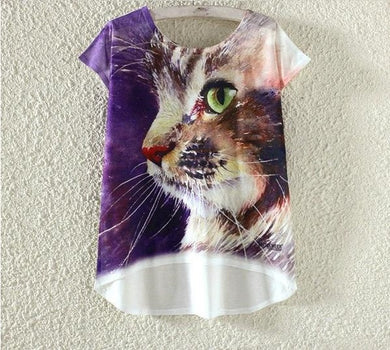 Limited Edition Galaxy Cat Top