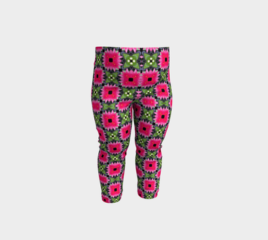 Flora design, patterned Leggings for babies by Jump In Trend