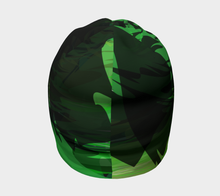 Camo beanie by JumpInTrend - back view