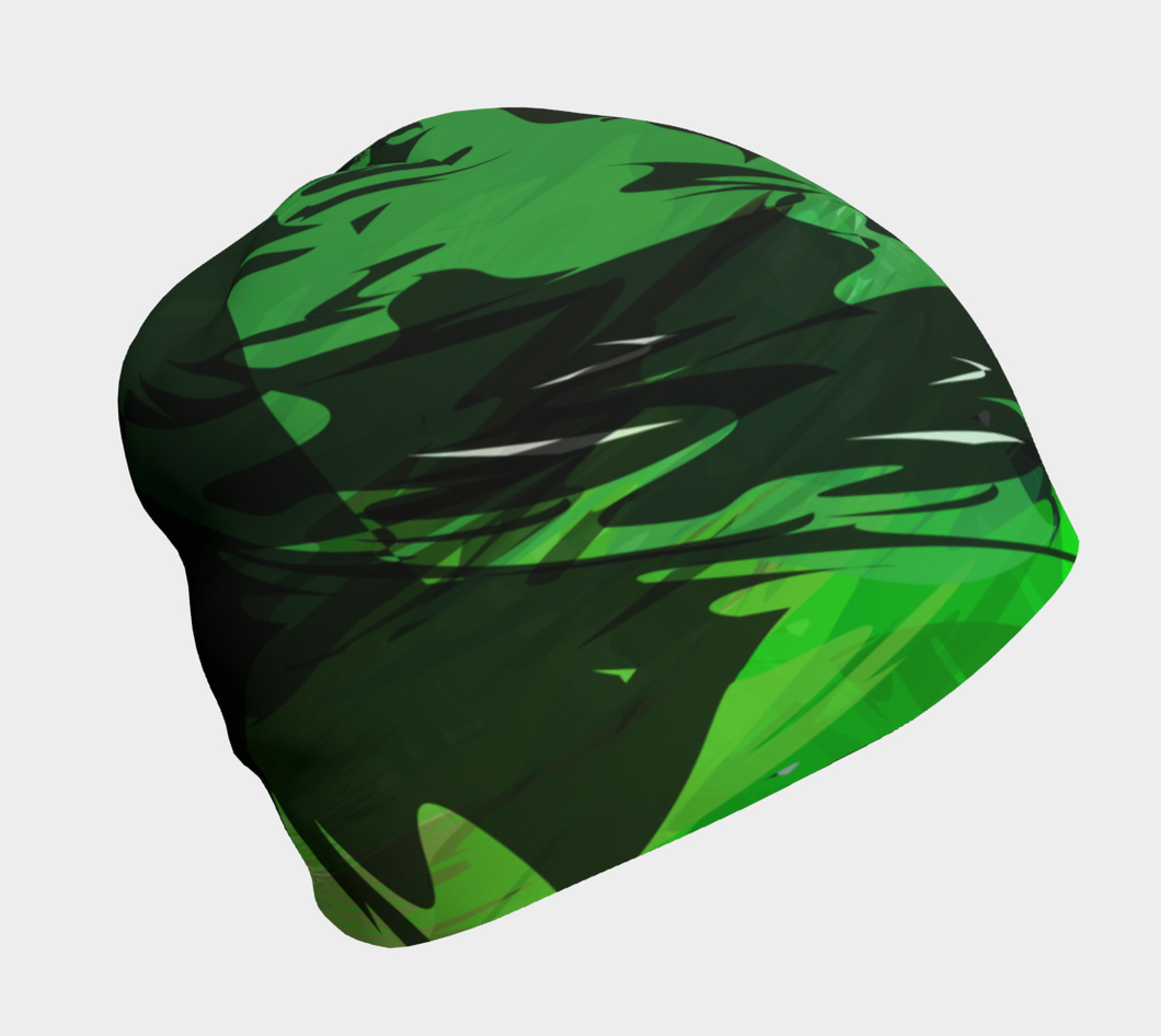 Camo beanie by JumpInTrend - right side view