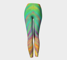 Spectrum - Green leggings made to order | Jump In Trend Canada