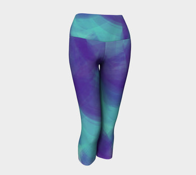 Waves Yoga Capris by Jump in Trend