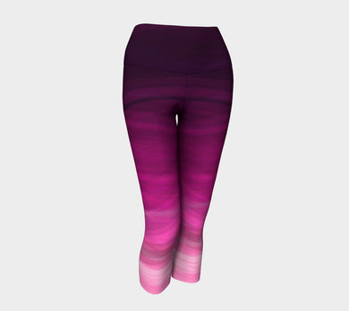 Mulberry Yoga Capris by Jump In Trend active wear