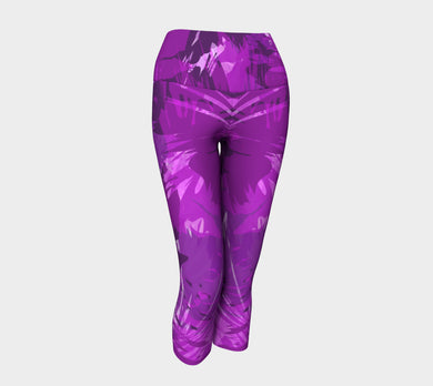 Purple Rain Yoga Capris by Jump in Trend