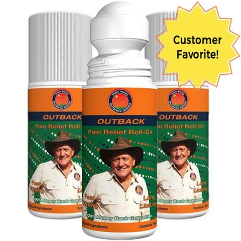 Outback Pain Relief™ Oil 50ML Roll-On - 2 Month Supply