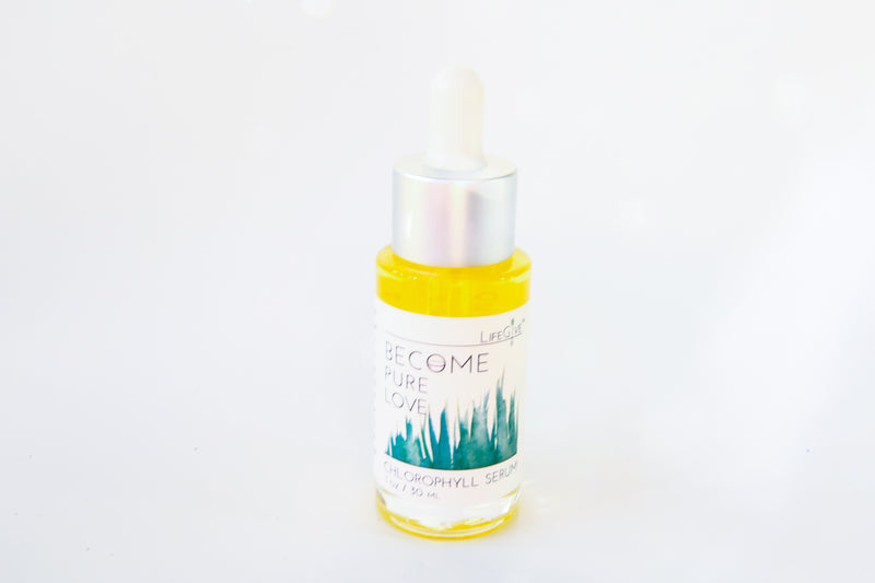 BECOME PURE LOVE - Chlorophyll Serum (1oz)