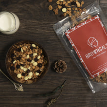 Christmas Special Granola ( Gingerbread Spice with  Belgium White chocolate + Cranberries)