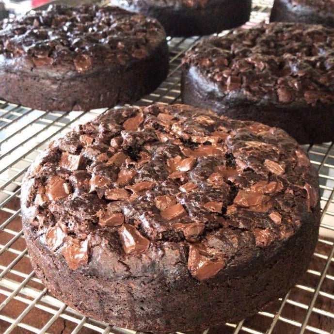 Moist Zucchini Chocolate Cake - Brownsalt Bakery