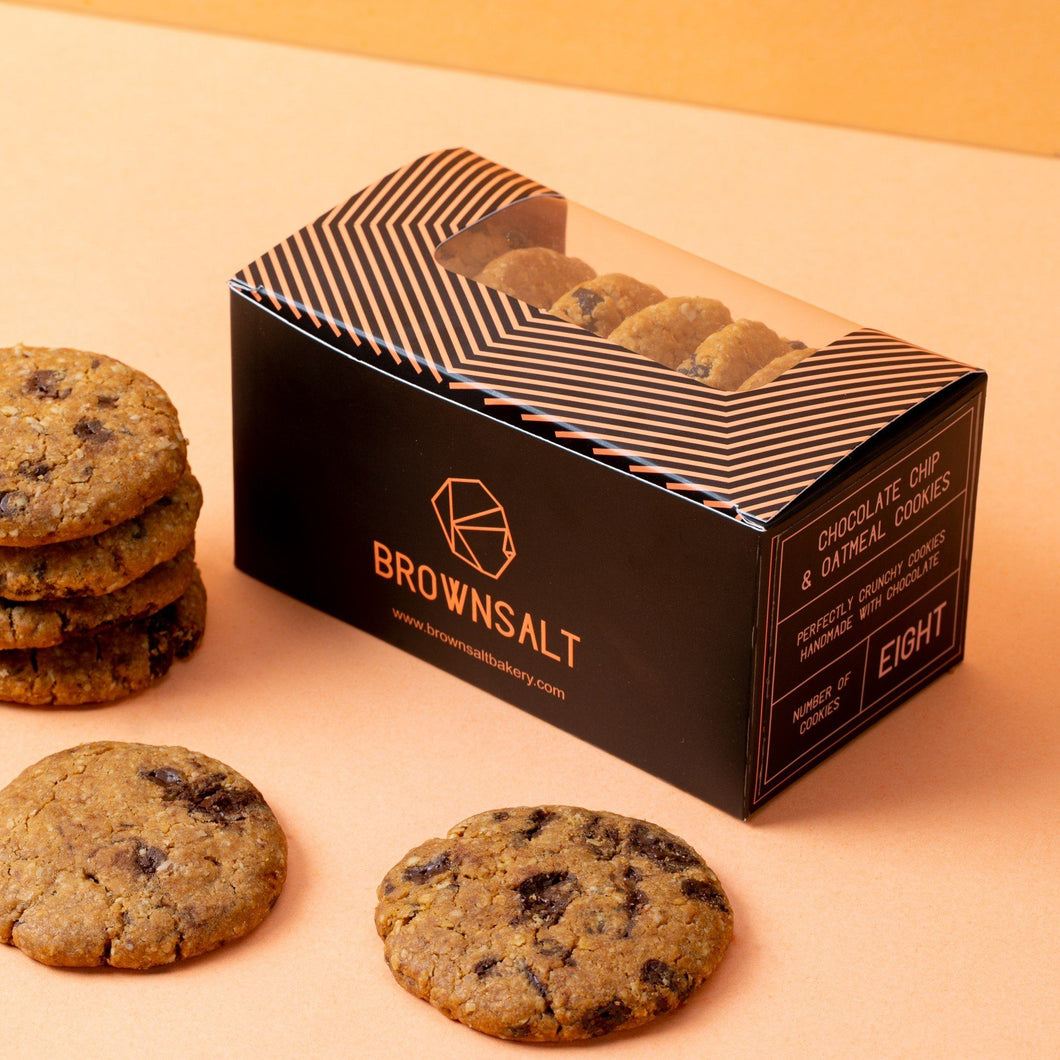 Signature Chocolate and Oatmeal Cookies - Brownsalt Bakery