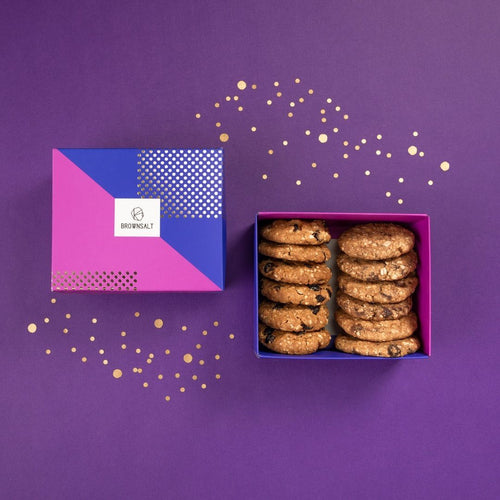 Gift Box - Set of 12 Assorted Cookies