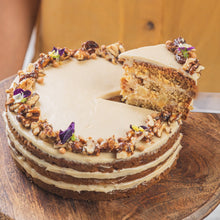 Whole Wheat Apple Cake with Maple Cream Cheese - Brownsalt Bakery