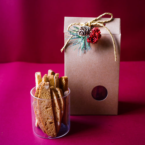 Secret Santa Biscotti Treat (Contains Egg)