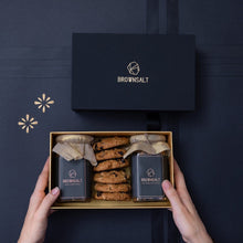 Signature Gift Box - 2 Granola Jars and 6 Assorted Cookies
