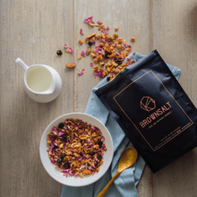 Rose and Pistachio Granola - Brownsalt Bakery