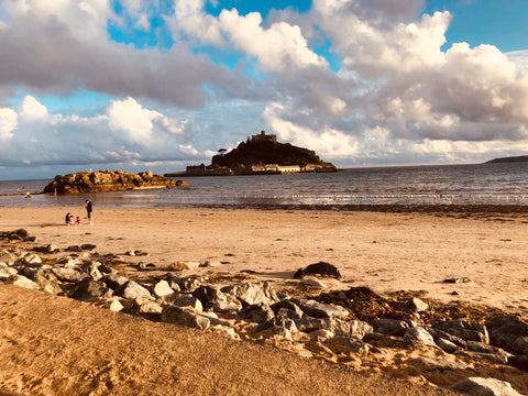 Hiking the South West Coastal Path - st Micheal's mount