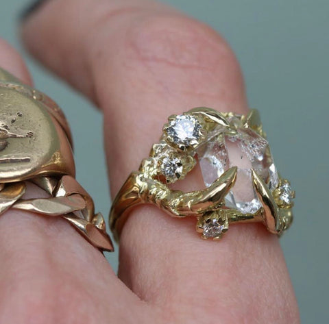 the 15 best unique and emerging jewellery designers tessa metcalf rings